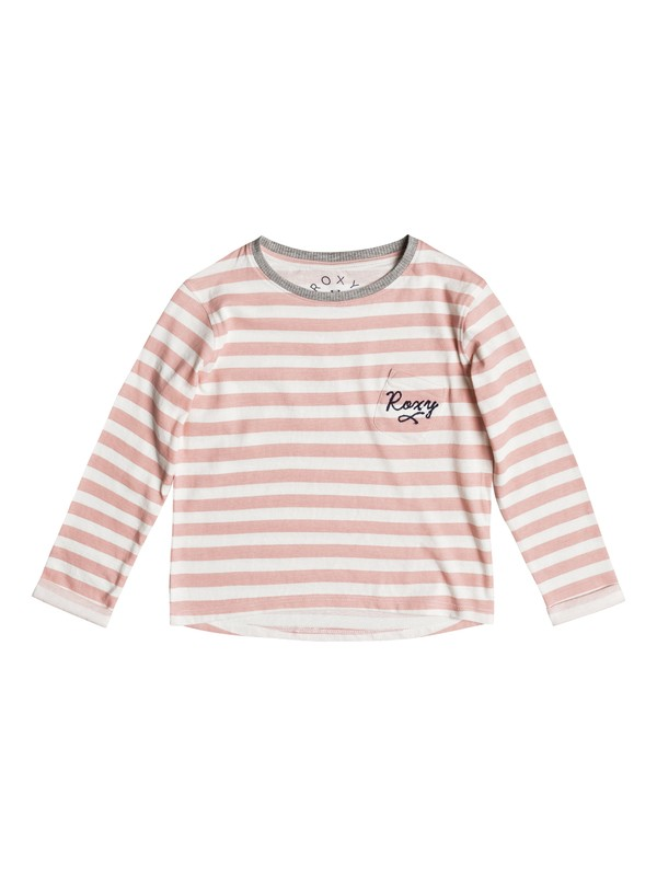 0 Girls 2-6 Ocean Of Story Long Sleeve Tee  ERLZT03100 Roxy