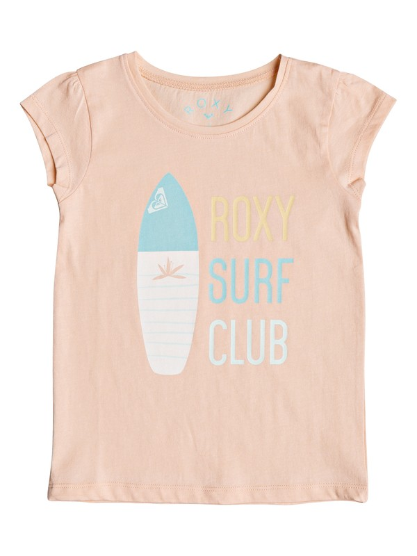 0 Girls 2-6 Moid Surf Club  Short Sleeve Tee  ERLZT03124 Roxy