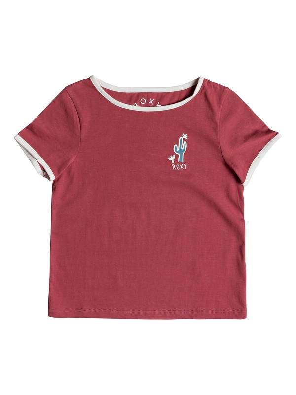 0 Girl's 2-6 Time'S Up Tee Pink ERLZT03133 Roxy