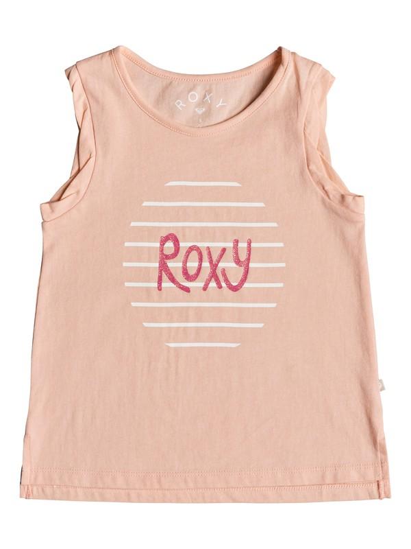 0 Girl's 2-6 Mystery Light Romantic Logo Tank Top Pink ERLZT03174 Roxy