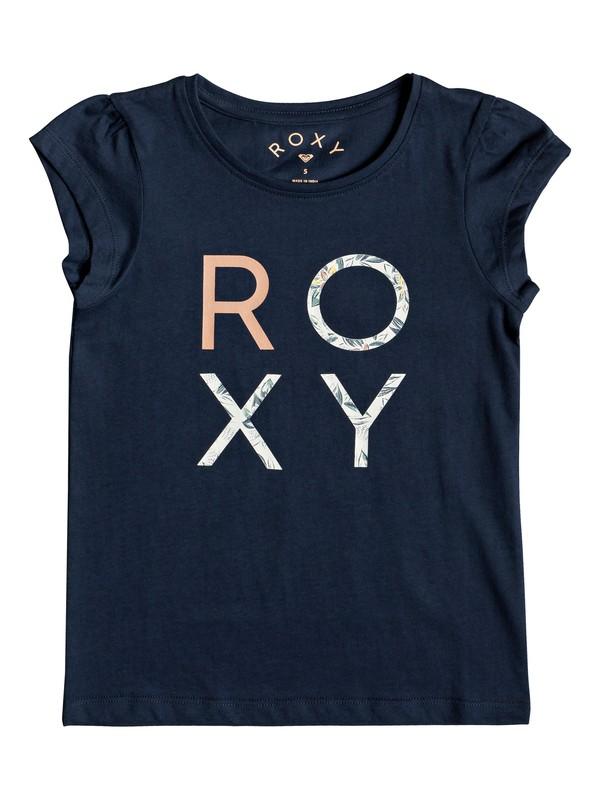 0 Girl's 2-6 Moid B Tee Blue ERLZT03188 Roxy