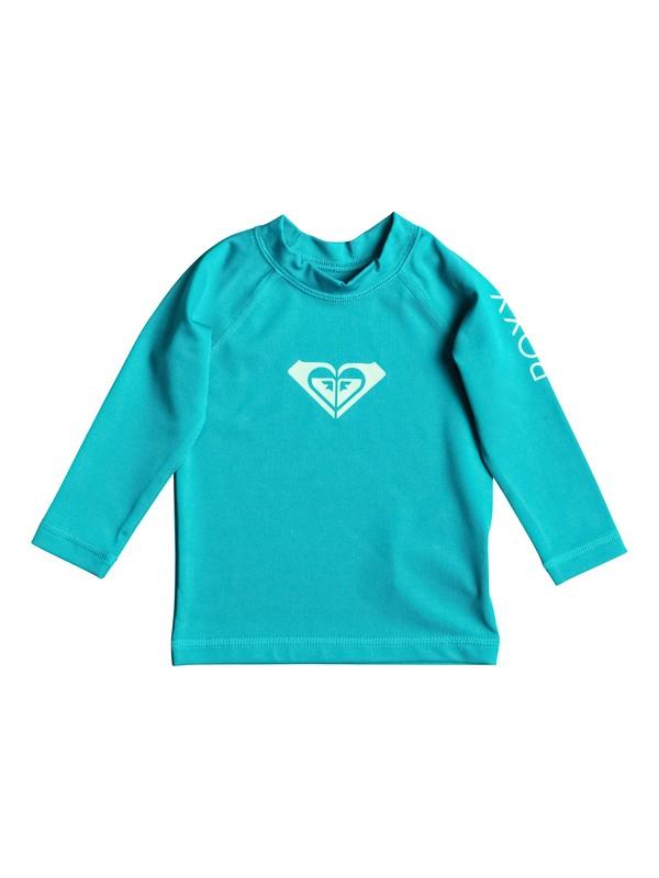 0 Baby Whole Hearted Long Sleeve UPF 50 Rashguard  ERNWR03001 Roxy