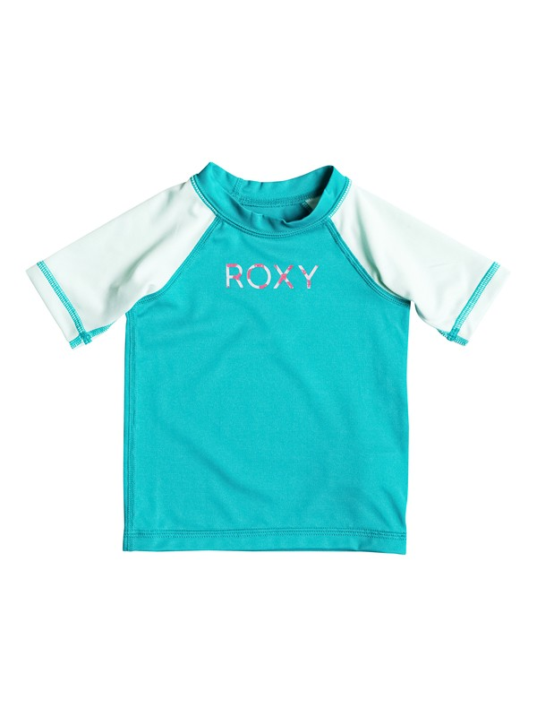 0 Baby Sail Away Short Sleeve Rashguard  ERNWR03002 Roxy