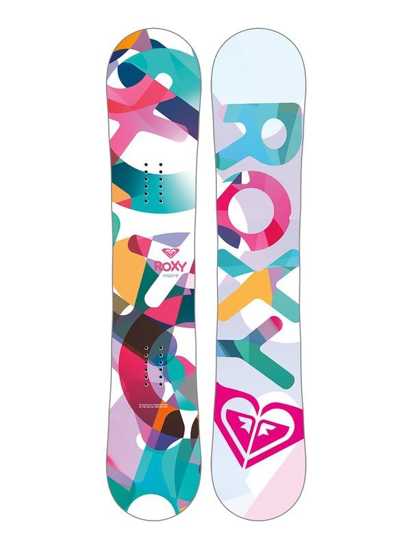 0 Girls Inspire Snowboard  LE6231005 Roxy