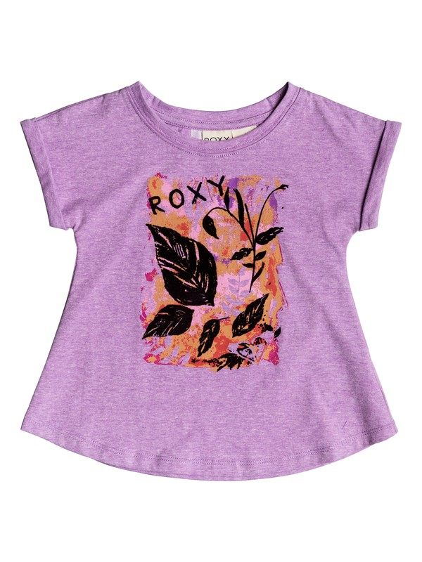 0 DONT LEAF SS TEE  PGRH61256 Roxy