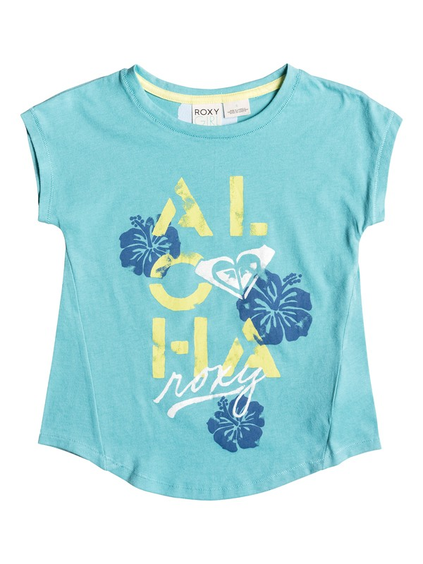 0 Girls 2-6 Aloha Flora Tank  PGRS61156 Roxy