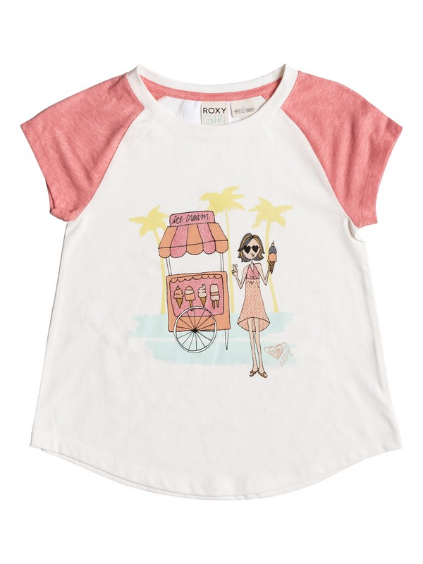 0 Girls 2-6 Ice Cream Cone Tank  PGRS61176 Roxy