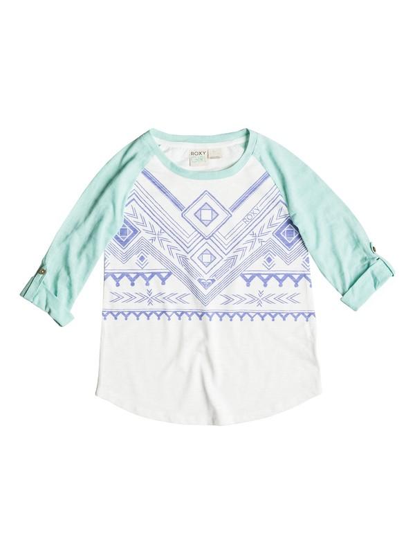 0 Girls 7-14 Aztec T-Shirt  PGRS61367 Roxy