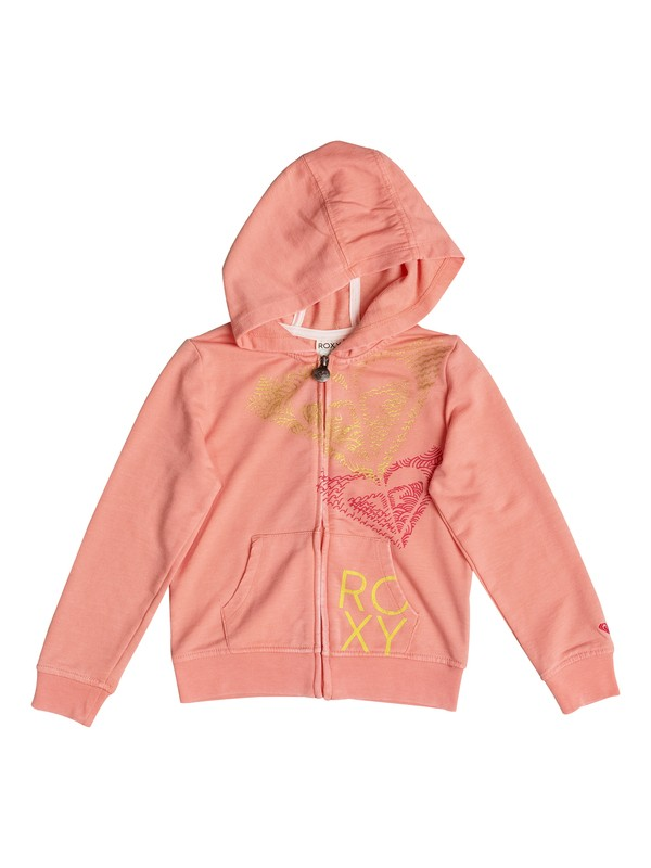 0 Girls 2-6 So Cal Vibe Zip-Up Hoodie  PGRS62036 Roxy