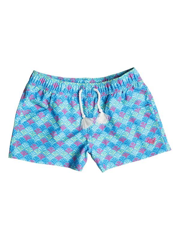 0 Girls 7-14 Island Tiles Boardshorts  PGRS65037 Roxy