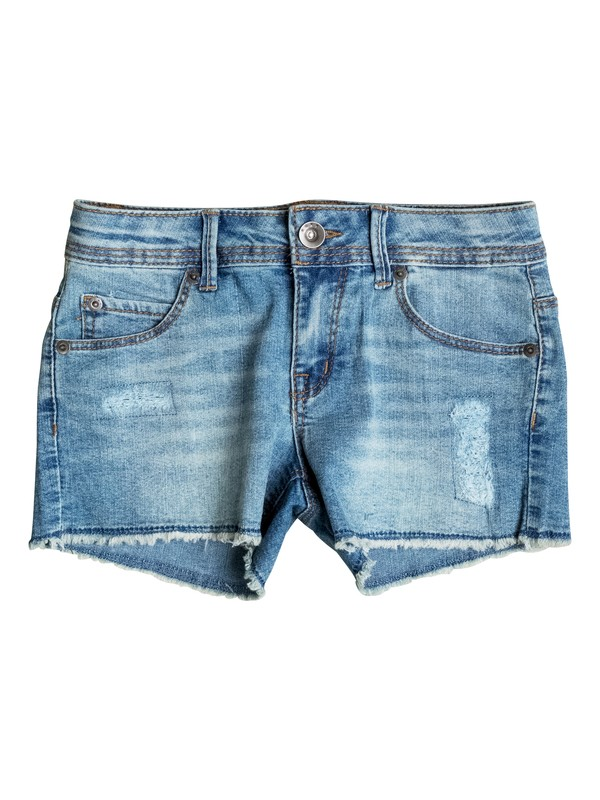 0 Girls 7-14 Snorkel Denim Shorts  PGRS65157 Roxy