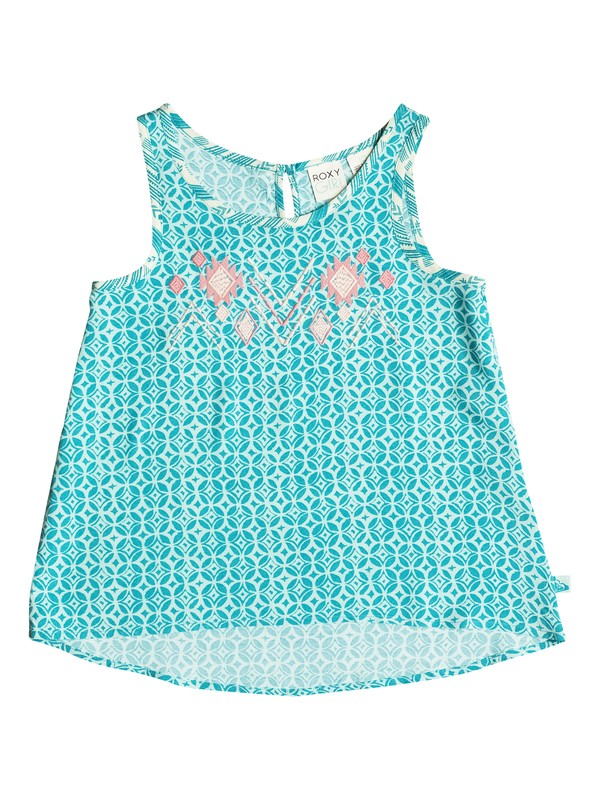 0 Girls 7-14 Sea Turtle Sleeveless Top  PGRS65247 Roxy
