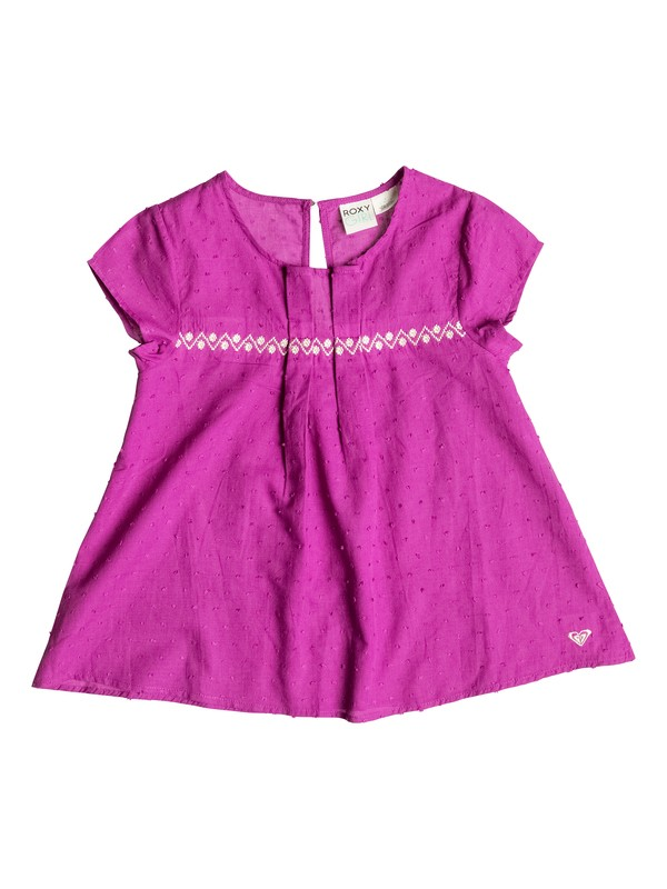 0 Girls 7-14 Sunset Short Sleeve Top  PGRS65277 Roxy