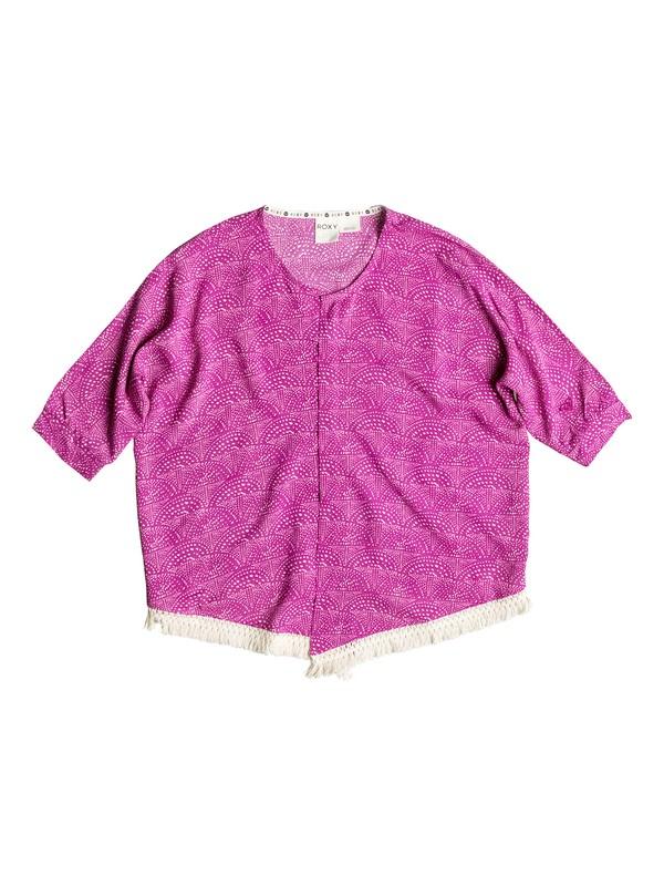 0 Girls 7-14 Coral Kimono Top  PGRS65997 Roxy