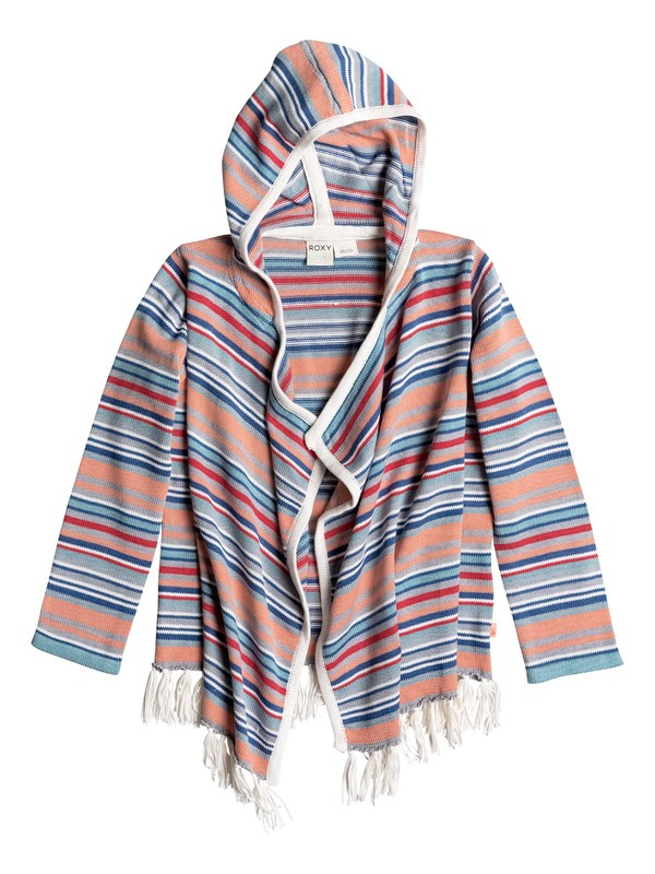 0 Girls 7-14 Seaside Cardigan  PGRS66027 Roxy