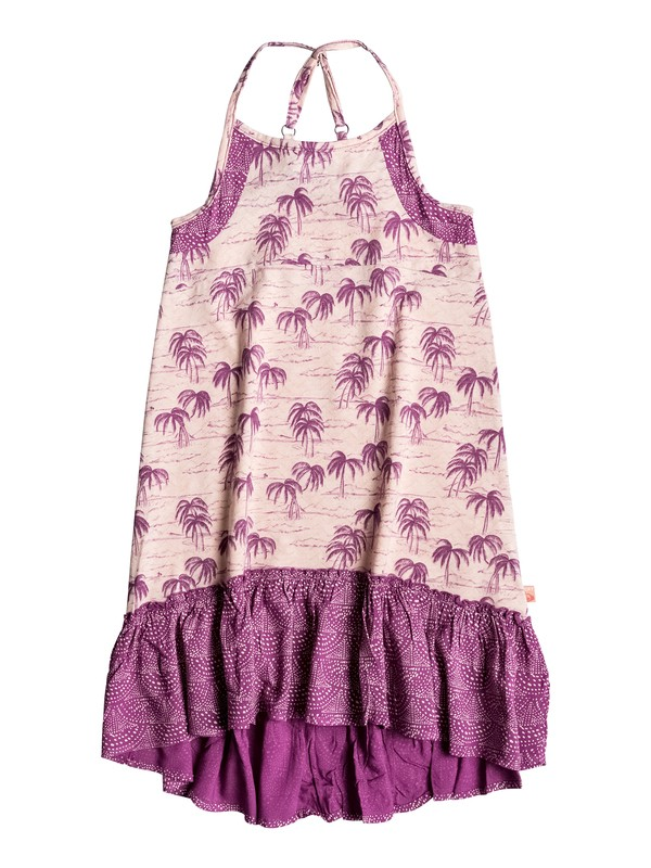 0 Girls 7-14 Lazy Palm Sleeveless Dress  PGRS68107 Roxy