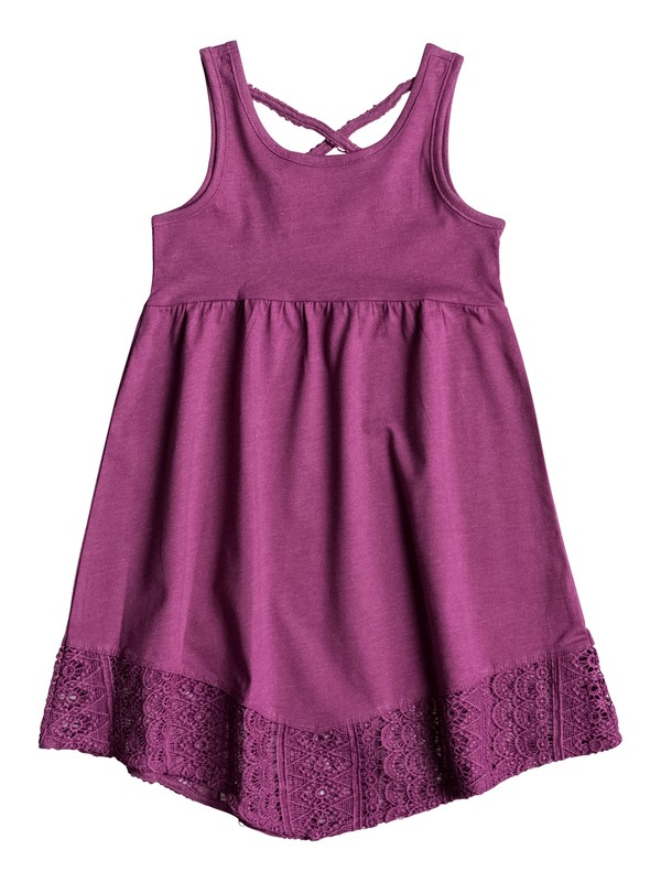 0 Girls 2-6 Tea Time Sleeveless Dress  PGRS68186 Roxy