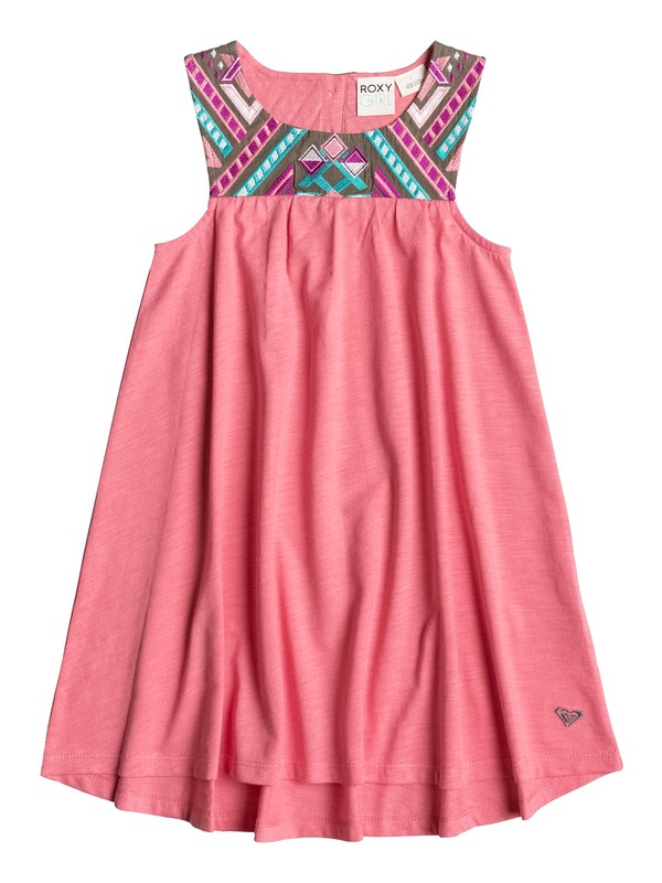 0 Girls 2-6 Sunny Sky Sleeveless Dress  PGRS68226 Roxy