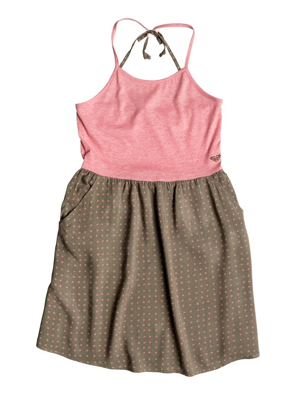 0 Girls 7-14 Sprint Sleeveless Dress  PGRS68237 Roxy