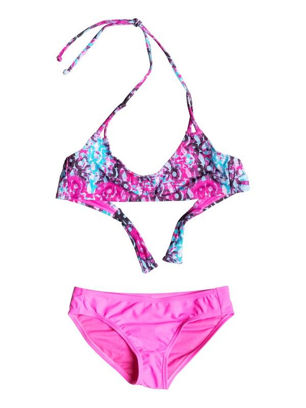 0 Girls 7-14 Altered Destination Bikini  PGRS68617 Roxy