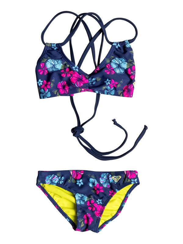 0 Baby Tropical Traditions Triangle Set  PGRS68921 Roxy