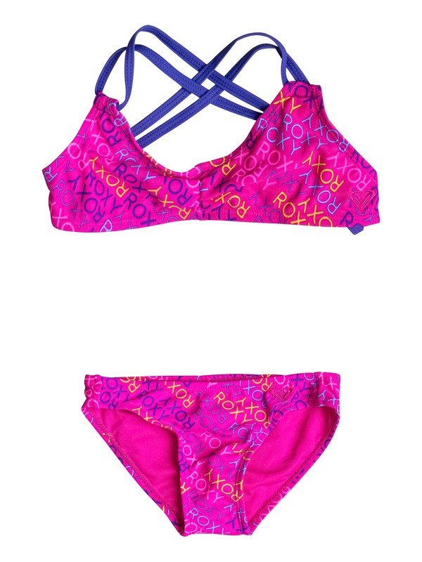 0 Girls 2-6 Roxy Ready Triangle Set  PGRS68976 Roxy