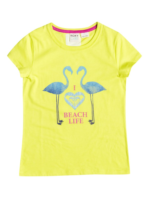 0 Girl's 7-14 Beach Life Tee  RRF51017 Roxy