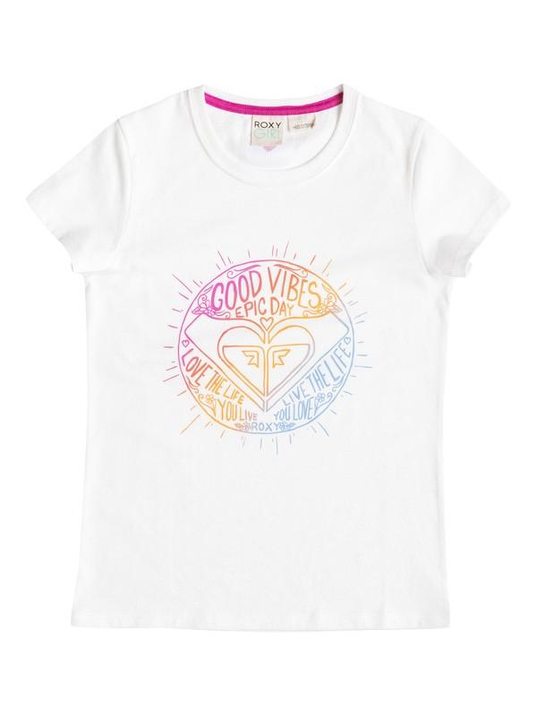 0 Camiseta Good Vibes - Niñas 7 -14  RRF51027 Roxy