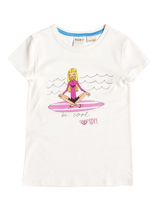 0 Girl's 2-6 Beach Comber Tee  RRF51046 Roxy