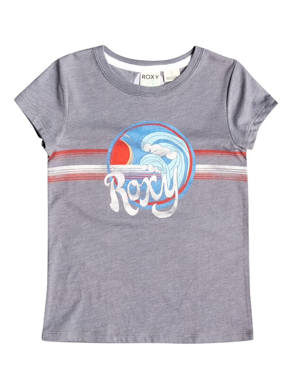 0 Girl's 2-6  90s Wave Tee  RRF51066 Roxy