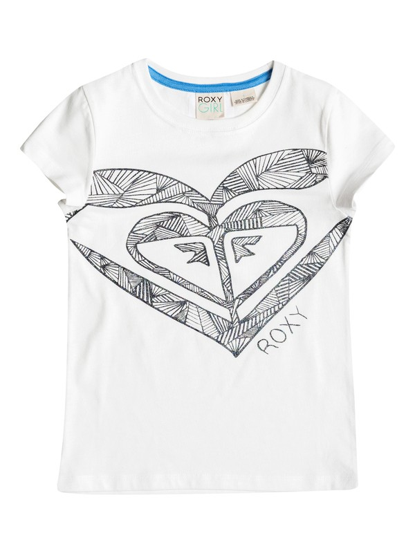 0 Girl's 2-6 All Heart Tee  RRF51276 Roxy