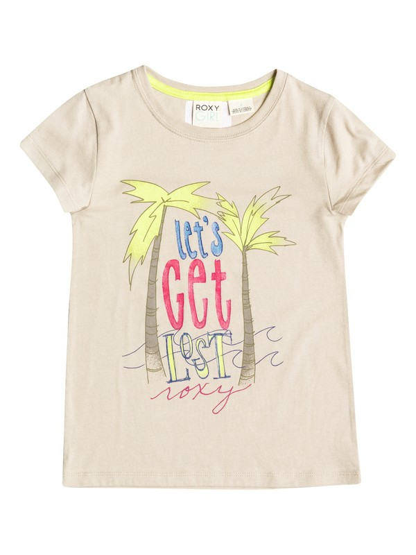 0 Girl's 2-6 Let's Get Lost  Tee  RRF51356 Roxy