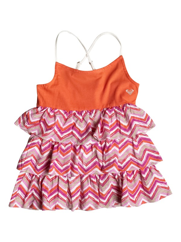 0 Girl's 2-6 Shoreline Chevron Tank Top  RRF51726 Roxy