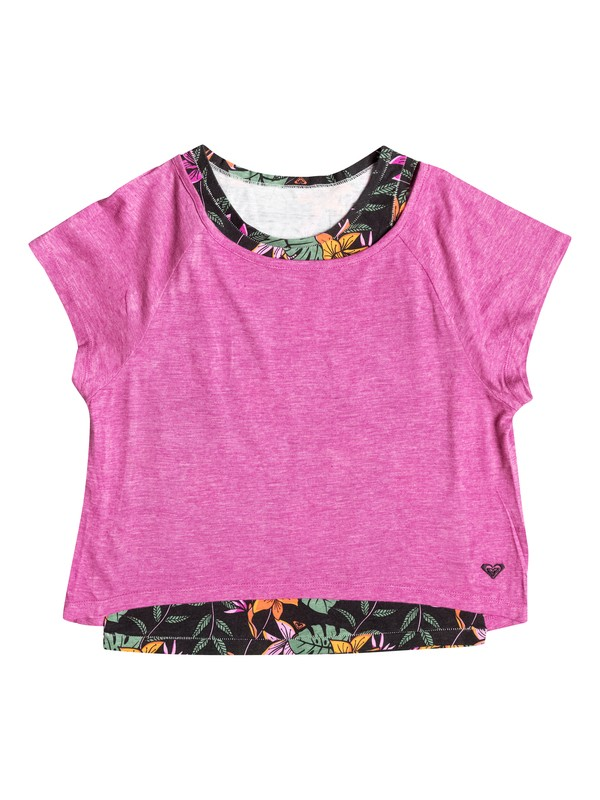 0 Girl's 7-14 Kona Top  RRF51897 Roxy