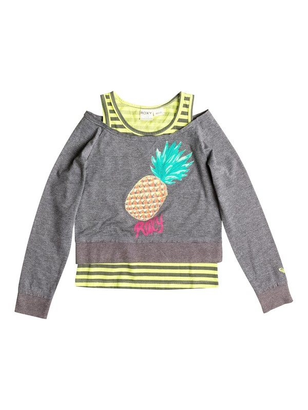 0 Girl's 2-6 Cool Pineapple Tee  RRF51946 Roxy