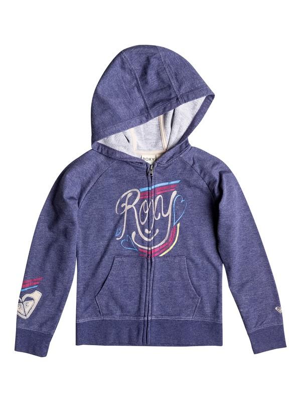 0 Girl's 2-6 Coney Logo Zip Hoodie  RRF52046 Roxy