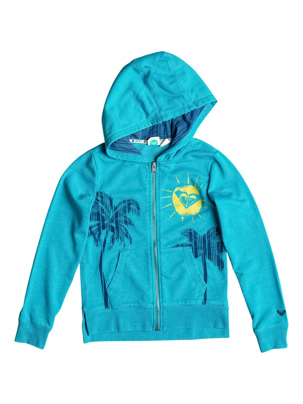 0 Girl's 7-14 Montigo Zip Hoodie  RRF52187 Roxy