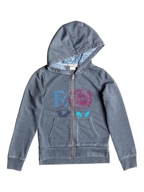0 Girl's 7-14 Sandstone Zip Hoodie  RRF52197 Roxy