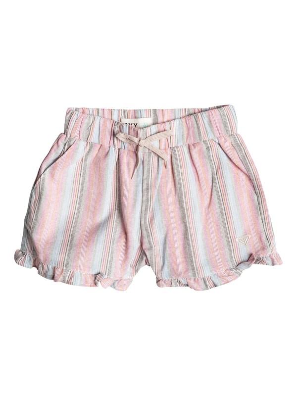 0 Baby Ruffle Striped Shorts  RRF55041 Roxy