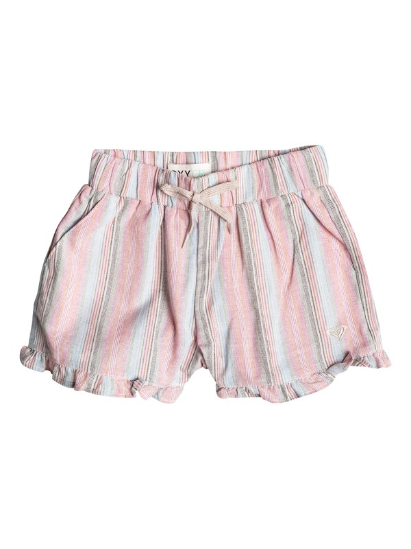 0 Shorts Ruffle Striped - Niñas 2 -6  RRF55046 Roxy