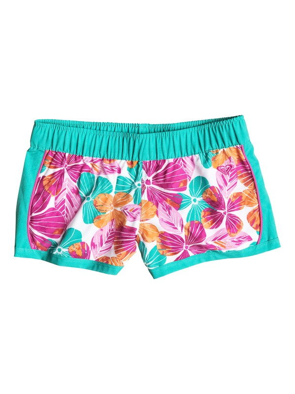 0 Baby Fall Tropics Floral Printed Boardshorts  RRF55371 Roxy