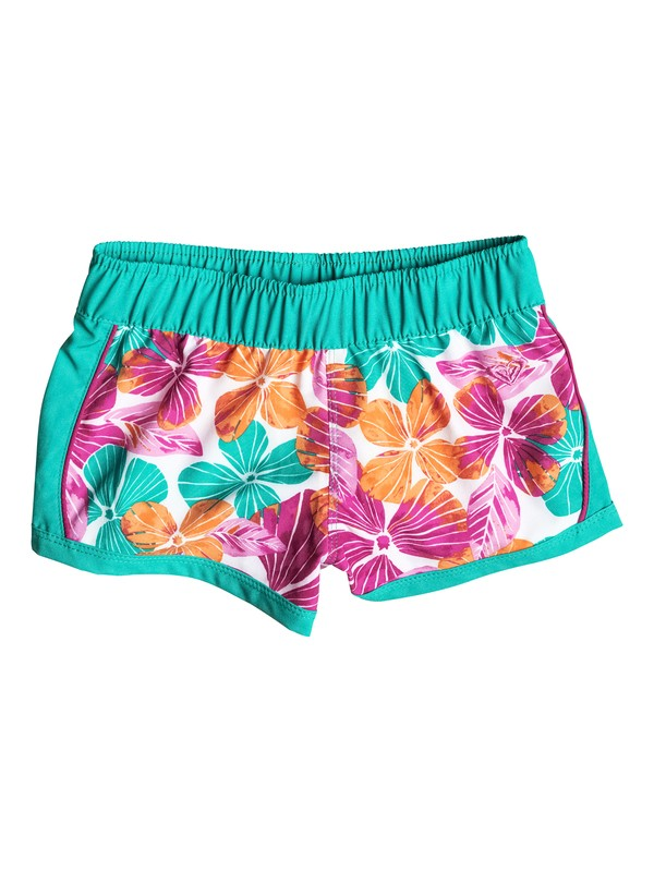 0 Girl's 7-14 Jungle Times Floral Printed Boardshorts  RRF55377 Roxy