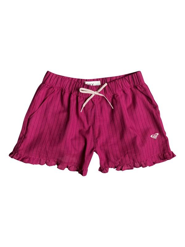 0 Shorts de Rayas Sunset - Niñas 7 -14  RRF55457 Roxy