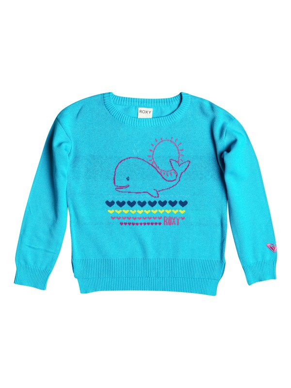 0 Baby Heart Whale Pullover Sweater  RRF56021 Roxy