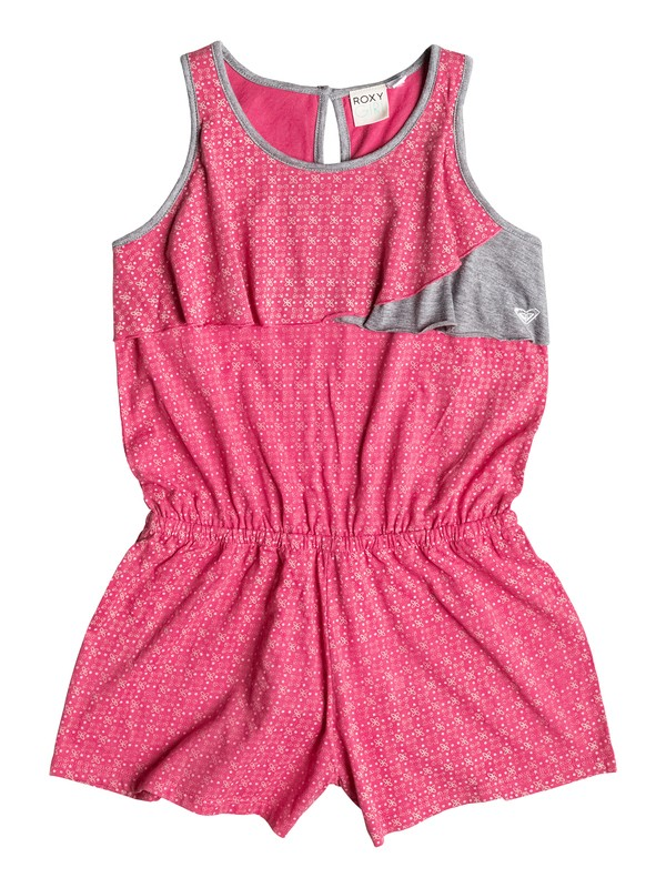 0 Girl's 7-14 Samba Short Sleeve Romper  RRF58247 Roxy