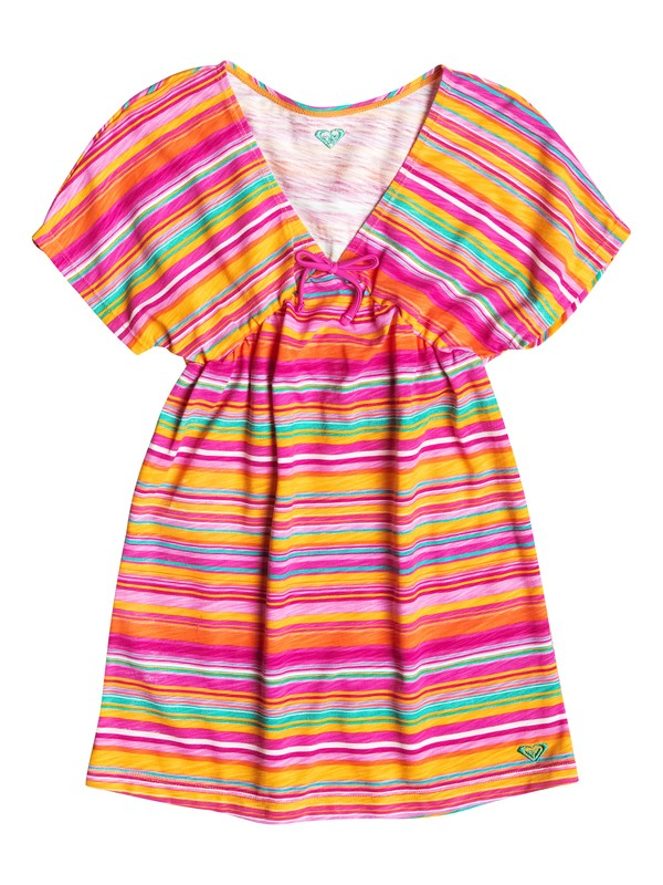0 Girl's 2-6 Fall Tropics Striped Cover Up  RRF58396 Roxy