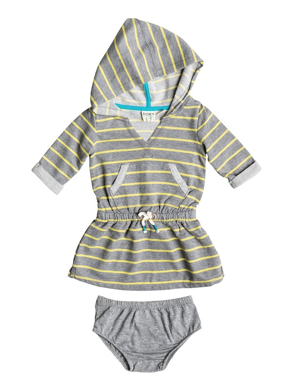0 Baby Catch The Wave Hooded Dress  RRF58441 Roxy
