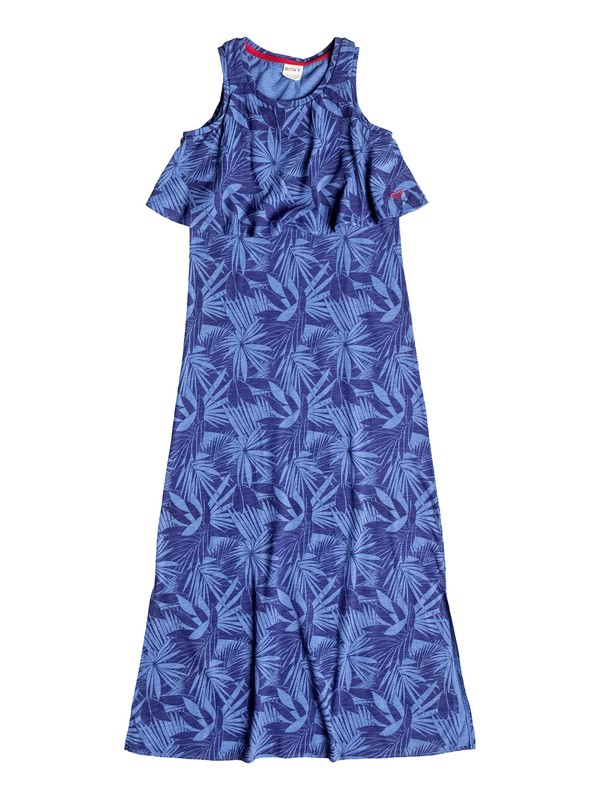 0 Girl's 7-14 Royal Palm Maxi Dress  RRF58487 Roxy