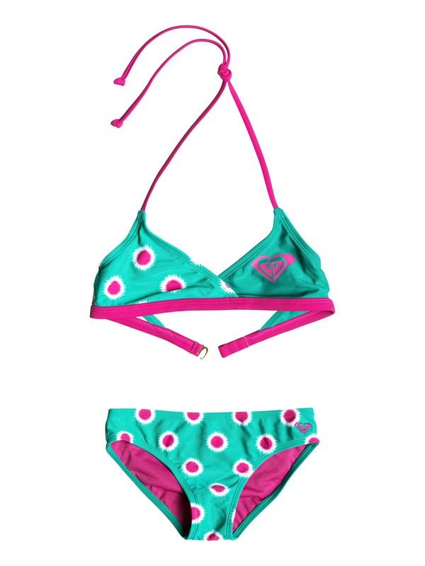 0 Conjunto de Bikini Safari Color Blocked - Bebé  RRF58731 Roxy