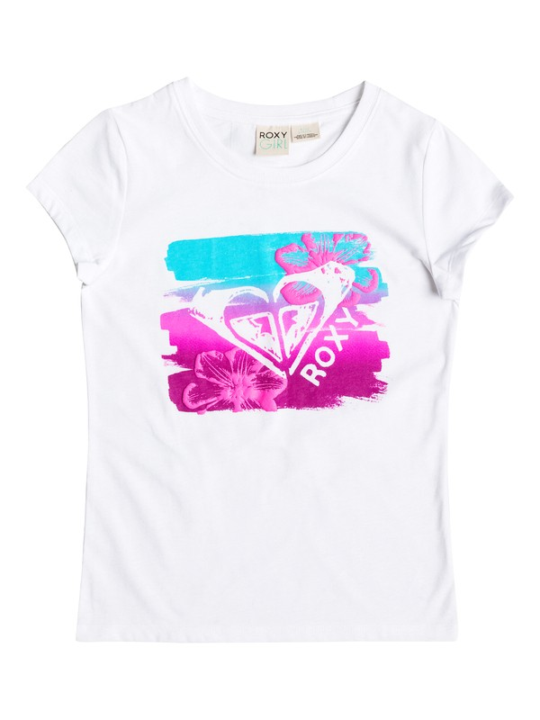 0 Girl's 2-6 LUSTER Short Sleeve Tee  RRF61326 Roxy